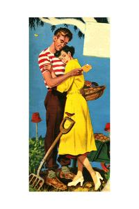 1950s UK Romance Magazine Plate