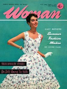 1950s UK Woman Magazine Cover