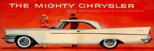 1950s USA Chrysler Magazine Advert (Detail)