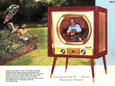 1950s USA Motorola Magazine Advertisement