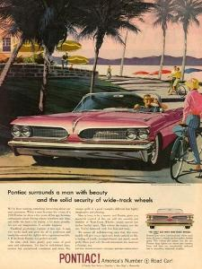 1950s USA Pontiac Magazine Advertisement