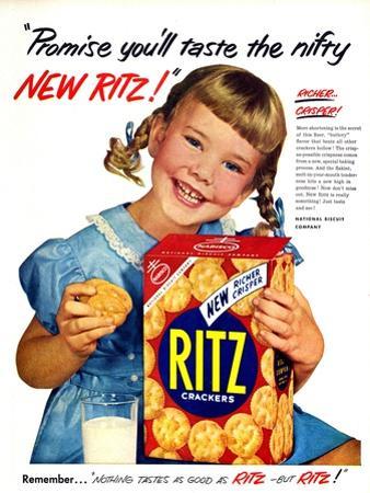 1950s USA Ritz Magazine Advertisement