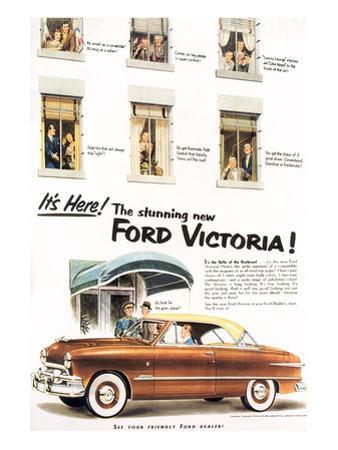 1951 - Stunning Ford Victoria