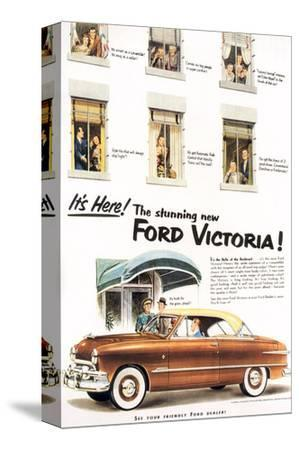 1951 - Stunning Ford Victoria