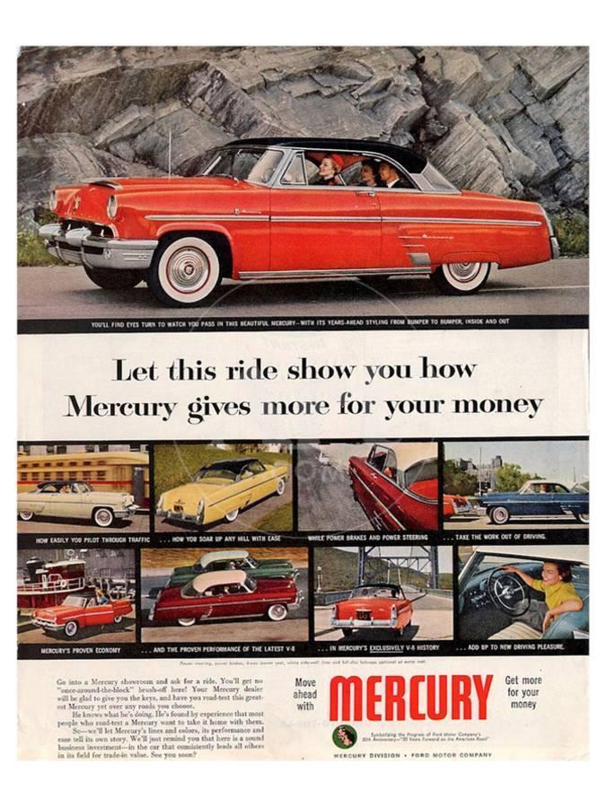 1953 Mercury-   For Your Money Art Print by | Art com