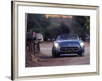 1954 Chevrolet Corvette-David Newhardt-Framed Giclee Print