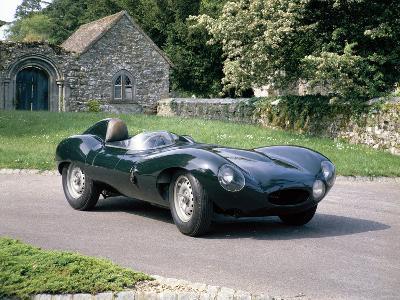 1954 Jaguar D Type--Photographic Print
