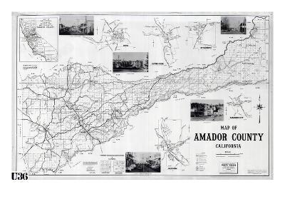 1955, Amador County 1955c, California, United States--Giclee Print