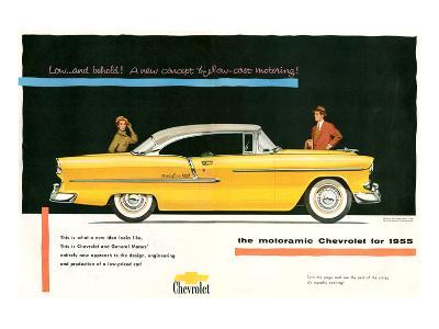 1955 GM Motoramic Chevrolet--Art Print