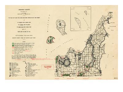 1955, Leelanau County, Michigan, United States--Giclee Print