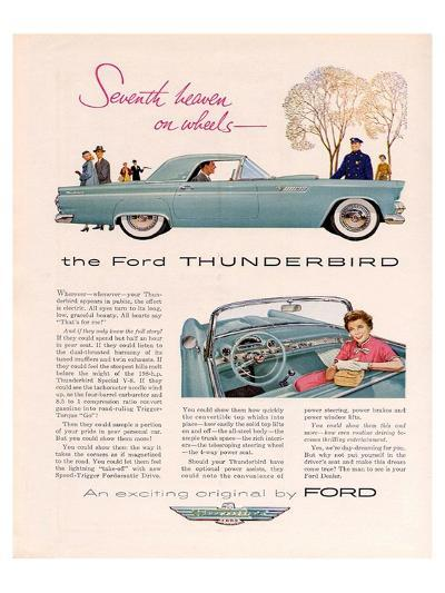 1955 Thunderbird 7th Heaven--Art Print