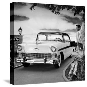Classic Cars 1956 Chevrolet Bel Air Sport Coupe
