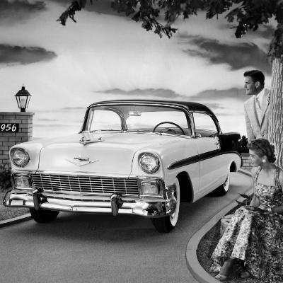 1956 Chevrolet Bel Air Sport Coupe--Photo