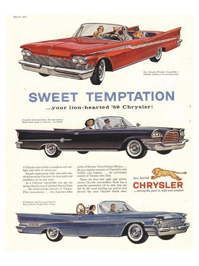 1956 Chrysler-Sweet Temptaion--Art Print