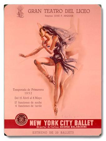 1956 New York City Ballet