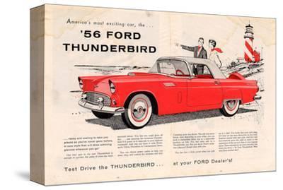 1956 Thunderbird - Exciting