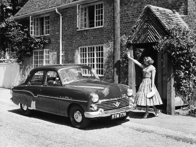 1956 Vauxhall Velox, (C1956)--Photographic Print