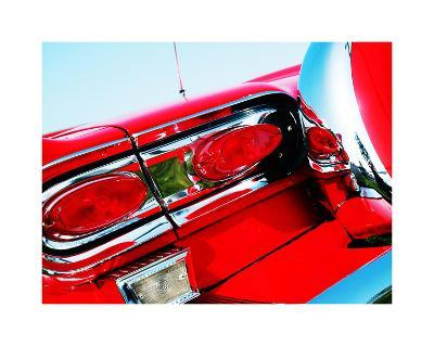 1958 Ford Fairlane 500 D-Clive Branson-Giclee Print