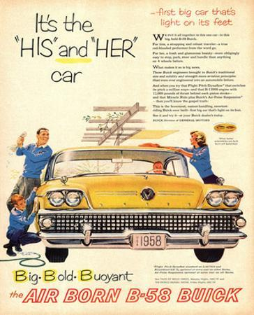 1958 GM Buick - His & Her Car