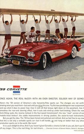 1959 GM Corvette Sports Car