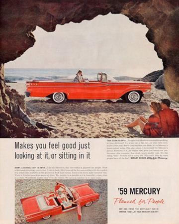 1959 Mercury - …Sitting in It