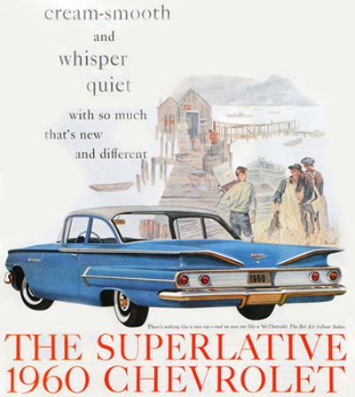 1960 GM Chevrolet Superlative