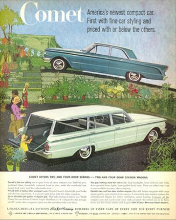 1960 Mercury-Comet Compact Car