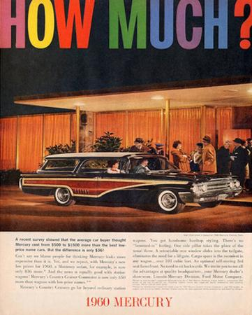 1960 Mercury - How Much?