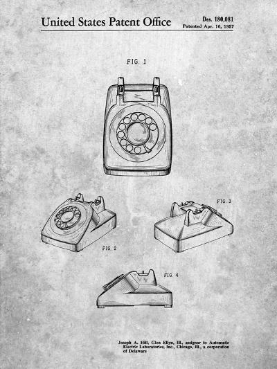 1960's Telephone-Cole Borders-Art Print