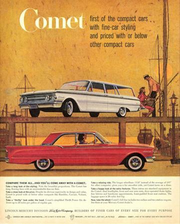 1960Mercury-Comet: 1St Compact