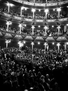 1960s Audience in Seats and Balconies of the Academy of Music Philadelphia, Pennsylvania