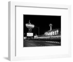 1960s Night Scene of the Stardust Casino Las Vegas,, Nevada