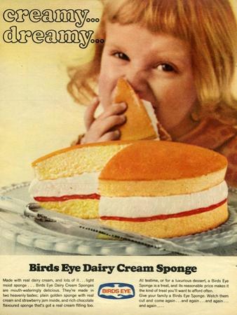 1960s UK Birds Eye Magazine Advertisement