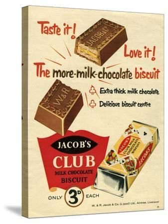 1960s UK Jacob's Magazine Advertisement