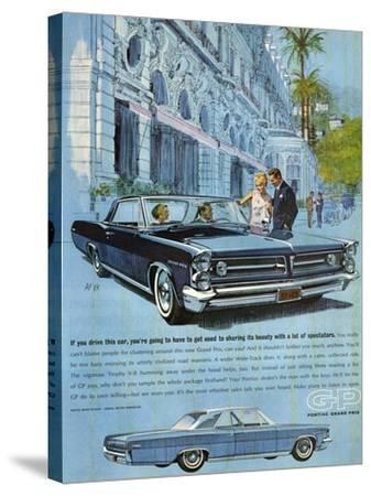 1960s USA Pontiac Grand Prix Magazine Advertisement