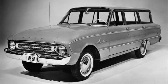 1961 Ford Falcon station wagon Photographic Print by | Art com