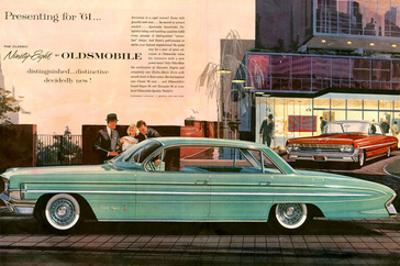 1961 GM Oldsmobile Classic 98