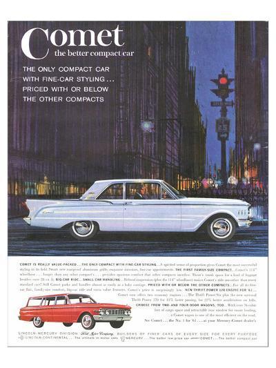 1961 Mercury-Comet Family Size--Art Print