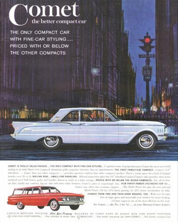 1961 Mercury-Comet Family Size