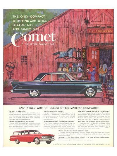 1961 Mercury-Comet Fine-Car…--Art Print