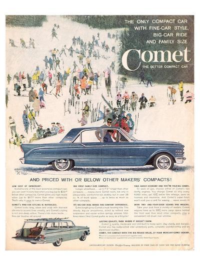 1961 Mercury Comet - Style--Art Print