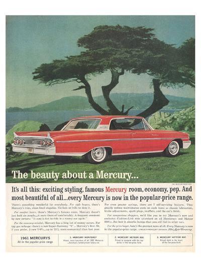 1961 the Beauty About Mercury--Art Print