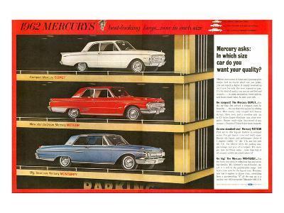 1962 Mercury - Your Quality--Art Print