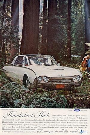 1962 Thunderbird Hush