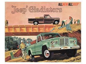 1963 Jeep Gladiators - All New