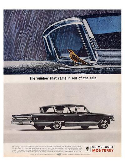 1963 Mercury - Out of the Rain--Art Print