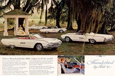 1963 Thunderbird By Ford