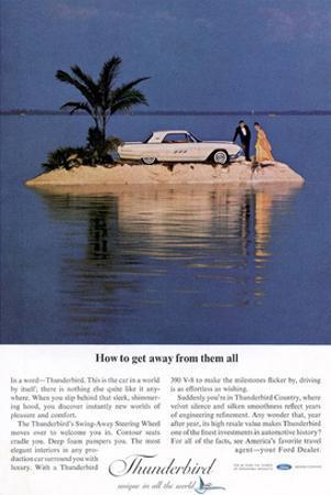1963 Thunderbird Getting Away