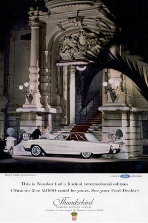 1963 Thunderbird Number 1