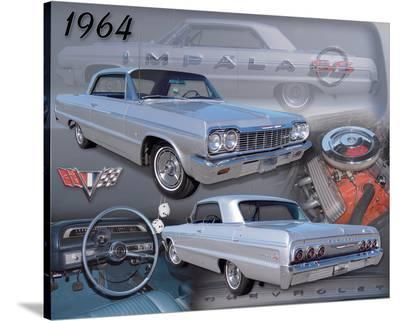 1964 Impala--Stretched Canvas Print